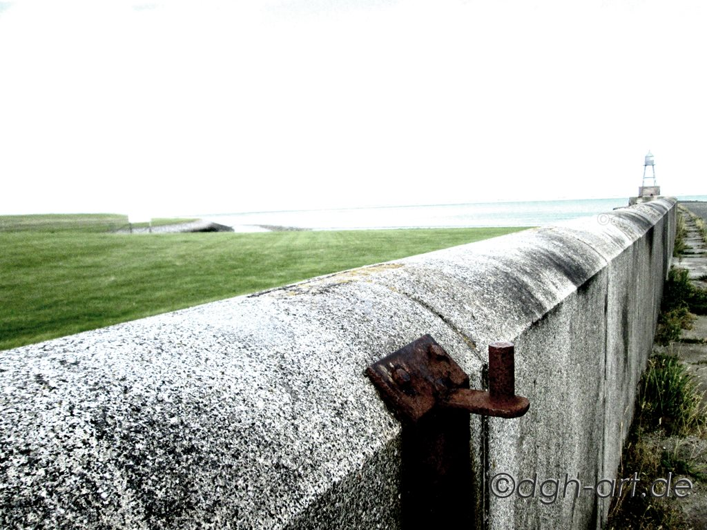Auch Mauern rosten irgendwann