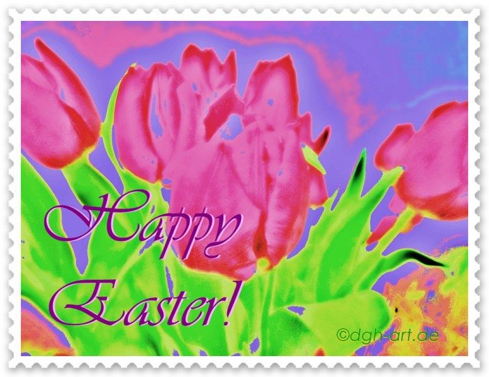 Happy Easter Stamp 16